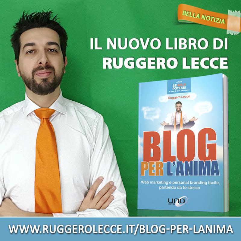 Il nuovo libro di Ruggero Lecce